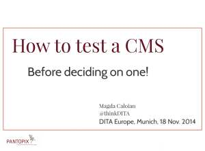 1_How-to-test-CMS-MagdaCaloian-20141118